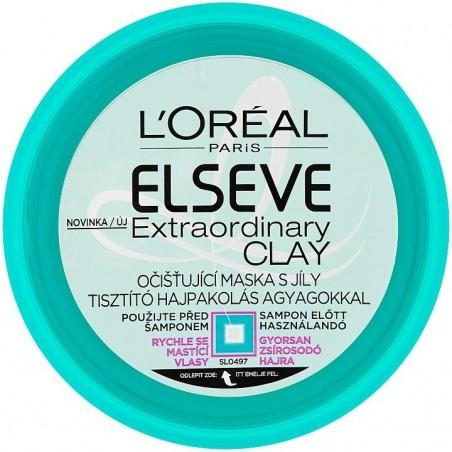 L'Oréal Elseve / Elvive Extraordinary Clay Hair Mask Masque 150 ml / 5 fl oz