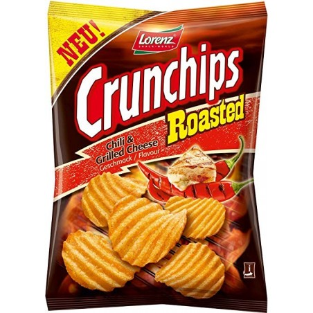 Lorenz Crunchips Roasted Chilly & Grilled Cheese 150 g