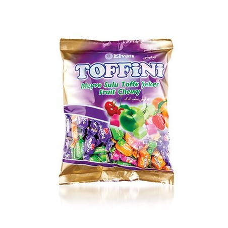 Elvan Toffix Toffini Candy with Fruit Juice 1 kg / 33.4 oz