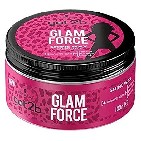 Schwarzkopf got2b Glam Force Shine Wax 100 ml / 3.4 fl oz