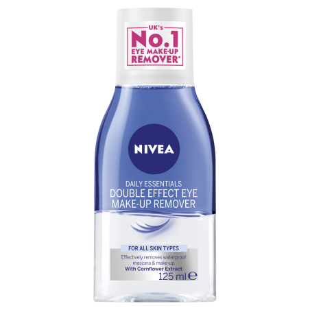 Nivea Double Effect Eye Make-Up Remover 125 ml / 4.17 fl oz