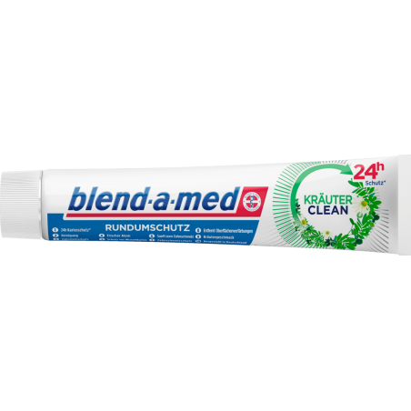 Blend-a-med Krauter / Herbs Clean Toothpaste 75 ml / 2.5 oz