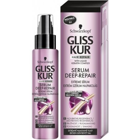 Schwarzkopf Gliss Kur Serum Deep-Repair Extreme Serum 100 ml / 3.4 fl oz