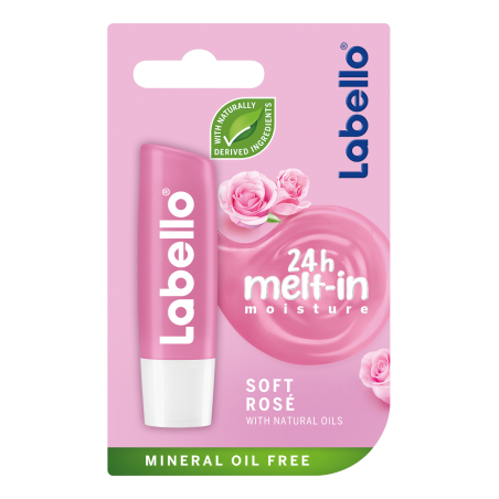 Labello Soft Rose Lip Balm 4,8 g