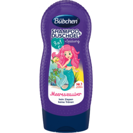 Bübchen 3in1 Sea Magic Shampoo & Shower Gel 230 ml / 7.7 fl oz