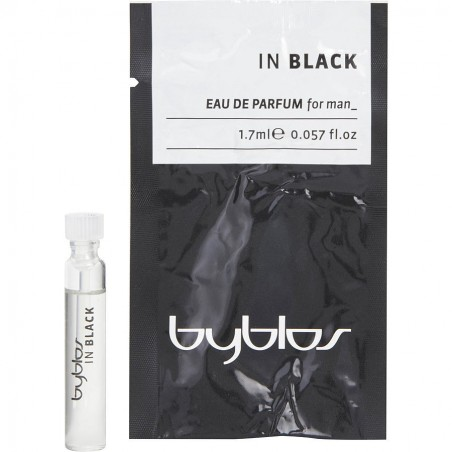 Byblos In Black For Man Eau de Parfum 1.7 ml / 0.057 fl oz