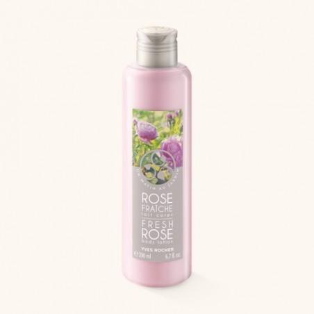 Yves Rocher Fresh Rose Body Lotion 200 ml / 6.7 fl oz