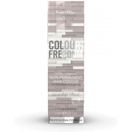 Knight & Wilson Colour-Freedom Ultra-Vibrant Non-Permanent Hair Colour - Sliver Blonde 150 ml / 5.07 fl oz