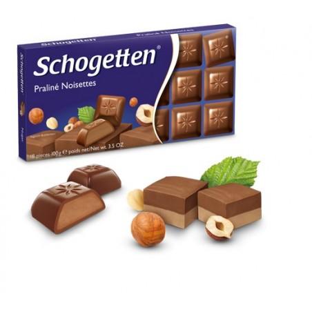 Schogetten Praliné Noisettes Chocolate 100 g / 3.5 oz