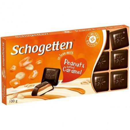 Schogetten Peanut & Salted Caramel Chocolate 100 g / 3.5 oz