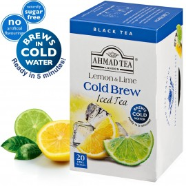 Ahmad Tea Cold Brew Iced Tea Lemon & Lime