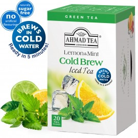 Ahmad Tea Cold Brew Iced Tea Lemon & Mint
