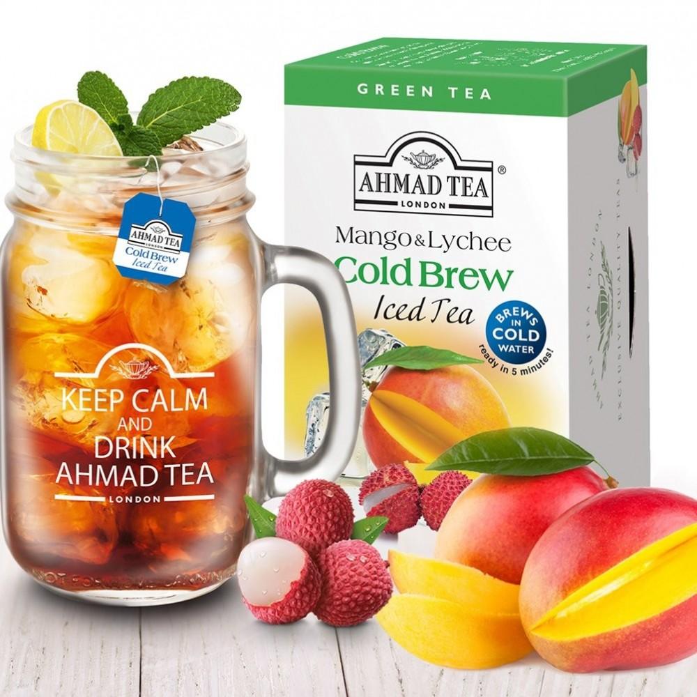 Ahmad Tea Cold Brew Iced Tea Lemon & Mint