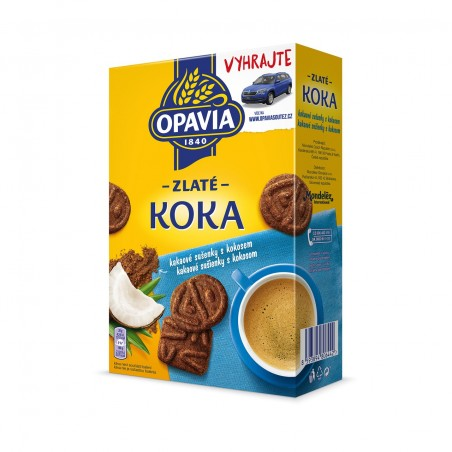Opavia Zlate Koka Biscuits 180 g / 6 oz