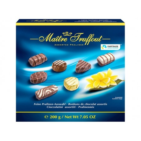 Maitre Truffout Assorted Pralines 200 g / 7.05 oz
