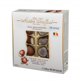 Maitre Truffout Assorted Pralines Sea Shells 250 g / 8.82 oz