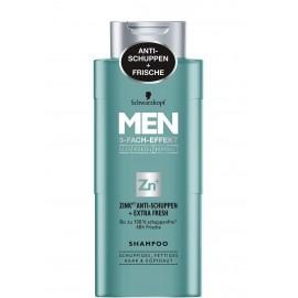 Schwarzkopf MEN Zinc Anti-Dandruff + Extra Fresh Shampoo 250 ml / 8.3.fl oz