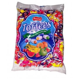 Prestige Toffees Assorted Fruity Filled Candy 1000 g