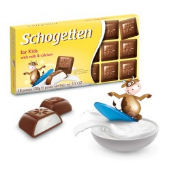 Schogetten for Kids Chocolate 100 g / 3.4 oz