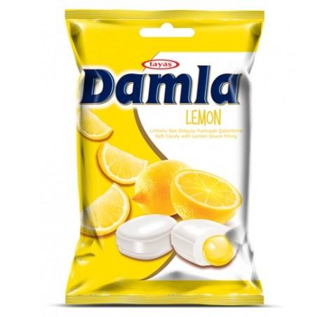 Tayas Damla Lemon Soft Candy 90 g / 3.17 oz
