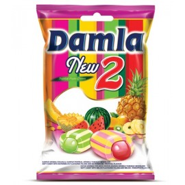 Tayas Damla New 2 Tropical Fruits Watermelon Chews 1 kg / 33.4 oz