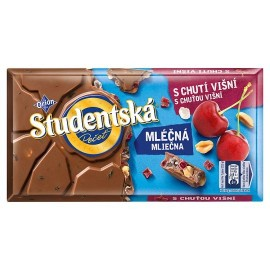 Orion Studentska Milk Chocolate Cherry 180g / 6.3 oz
