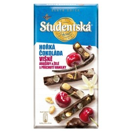 Orion Studentska Dark Chocolate Cherry Vanilla 170 g / 5.7 oz