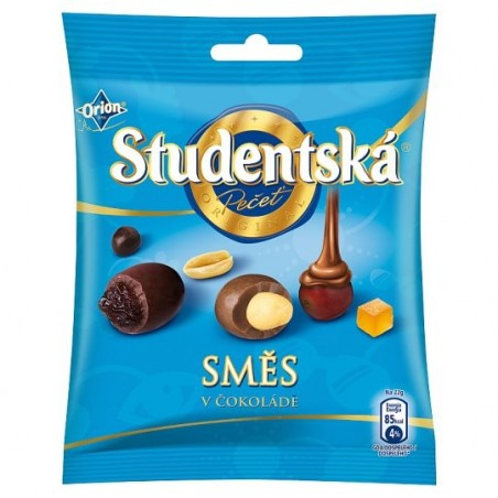 Orion Studentska Mix in Chocolate 90 g / 3 oz