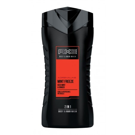 Axe Adrenaline Mint Freeze Body & Hair Wash 250 ml / 8.4 fl oz