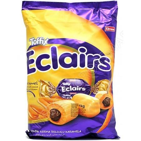 Elvan Toffix Eclairs Caramel 1 kg / 33.4 oz