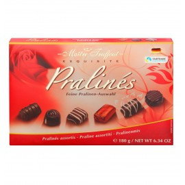 Maitre Truffout Exquisite Pralines Red 180 g / 6.34 oz