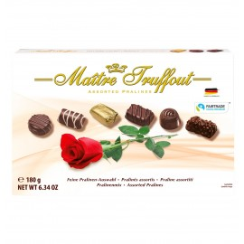 Maitre Truffout Assorted Pralines Rose 180 g / 6.34 oz