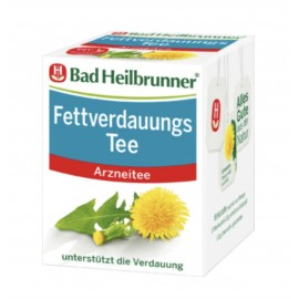 Bad Heilbrunner Fettverdauungs / Fat Digestion Tea (8x2g)