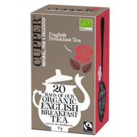 Cupper Organic English Breakfast Tea