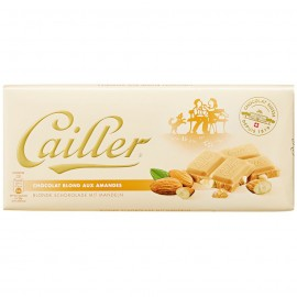 Cailler White Almond Chocolate 100 g / 3.4 oz