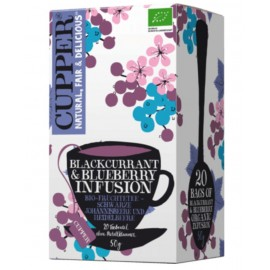 Cupper Blackcurrant & Blueberry Infusion
