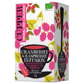 Cupper Cranberry & Raspberry Infusion