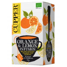 Cupper Lemon & Ginger Infusion