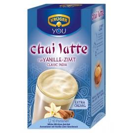 Krüger Chai Latte Classic India Vanilla - Cinnamon 250 g / 8.4 oz