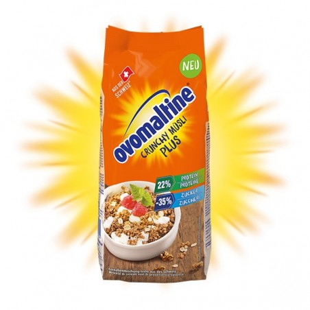 Ovomaltine Crunchy Müsli Plus 300 g / 10 oz