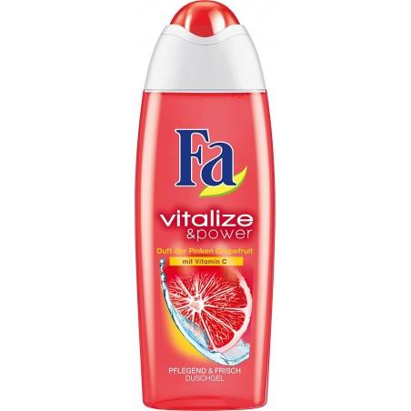 Fa Vitalize & Power Pink Grapefruit Shower Gel 250 ml / 8.4 oz