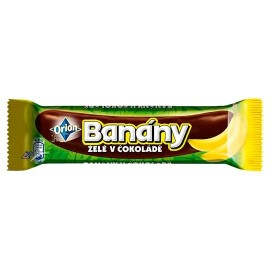 Orion Banany / Bananas jelly in chocolate 45 g / 1.5 oz