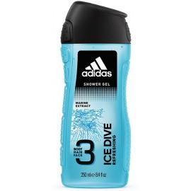 Adidas Ice Dive Hair & Body Shower Gel 250 ml / 8.4 fl oz