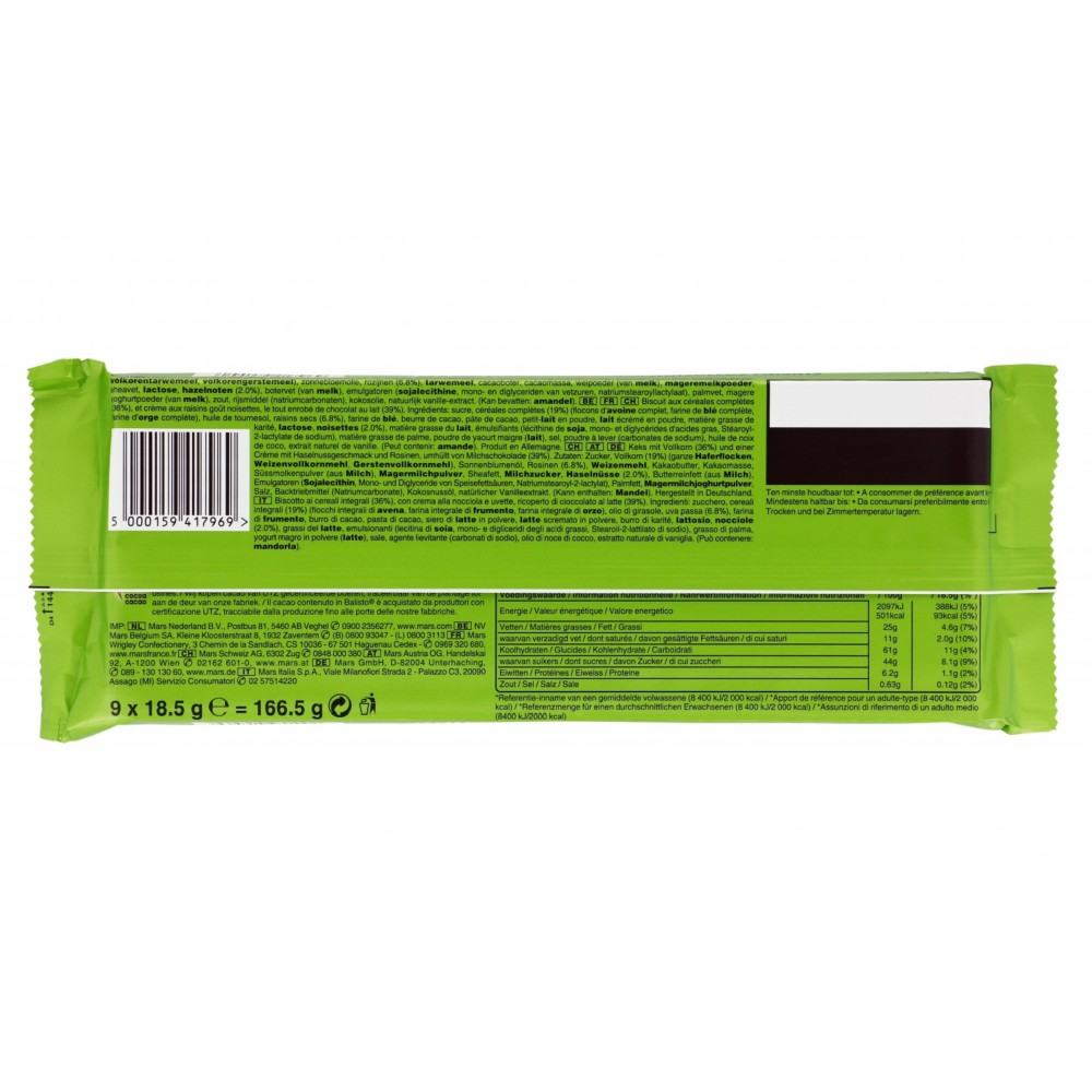 Balisto Muesli-Mix 180 g / 6 oz