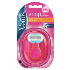 Gillette Venus Extra Smooth Snap Pink Razor (1 Pack)
