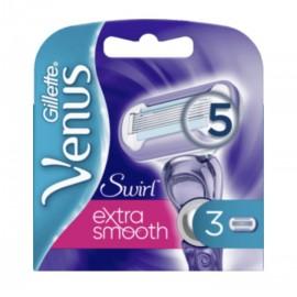 Gillette Venus Extra Smooth Swirl Razor Blades (3 Pack)