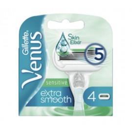 Gillette Venus Extra Smooth Sensitive Razor Blades (4 Pack)