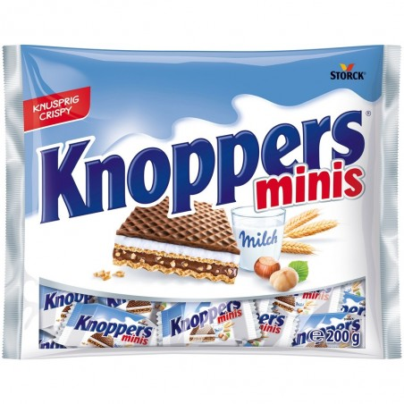 Storck Knoppers Minis 200 g / 6.8 oz