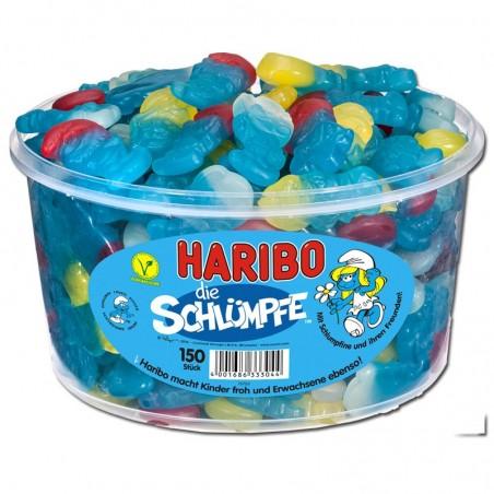 Haribo Schlümpfe / Smurfs 1.35 kg / 45 oz / 150 pcs