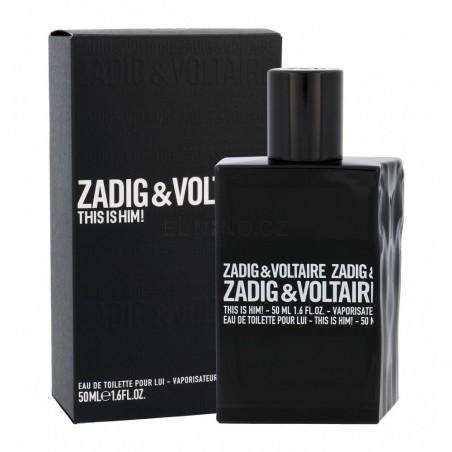 Zadig & Voltaire This is Him! Eau De Toilette 50 ml / 1.6 fl oz